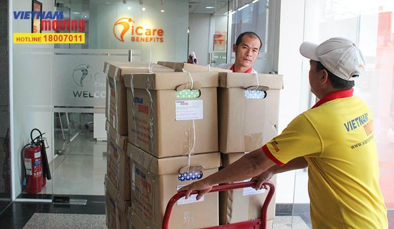 Dự án vận chuyển công ty iCare Benefits Việt Nam