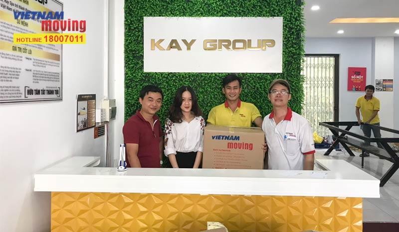 Dự án vận chuyển công ty Viện Thẩm Mỹ Kay Spa Việt Nam - Kay Group 1