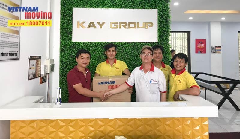 Dự án vận chuyển công ty Viện Thẩm Mỹ Kay Spa Việt Nam - Kay Group