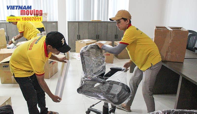 Dự án chuyển văn phòng công ty Living Style Việt Nam 4