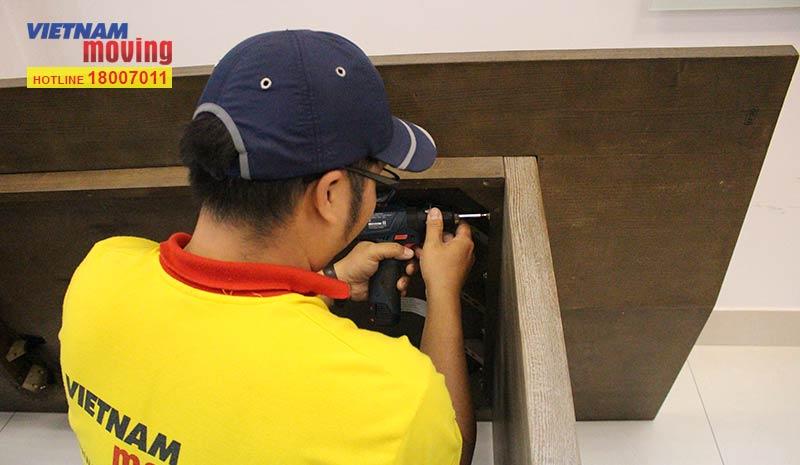 Dự án chuyển văn phòng công ty Living Style Việt Nam 8