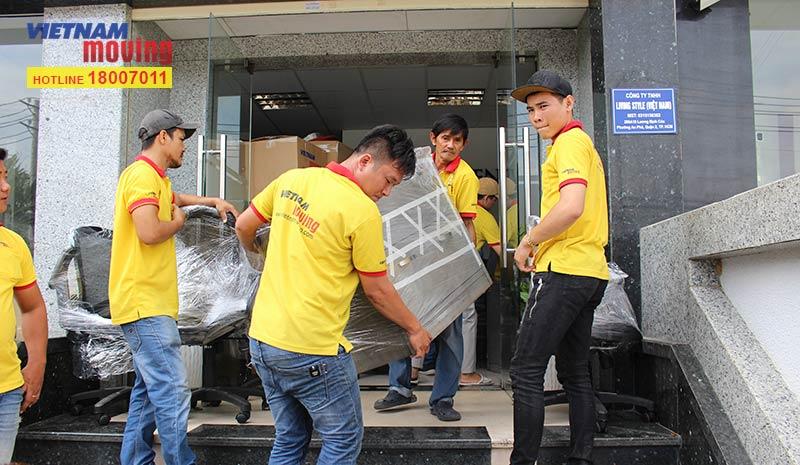 Dự án chuyển văn phòng công ty Living Style Việt Nam 9