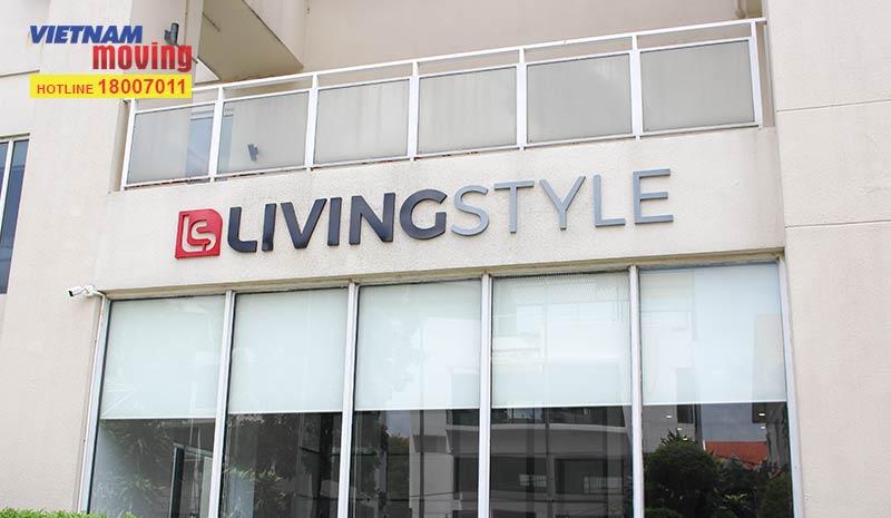 Dự án chuyển văn phòng công ty Living Style Việt Nam