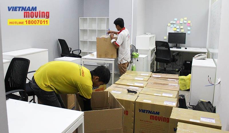 Dự án chuyển văn phòng công ty Novaland Group 5