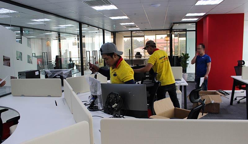 Dự án chuyển văn phòng công ty Pizza Hut Việt Nam 10