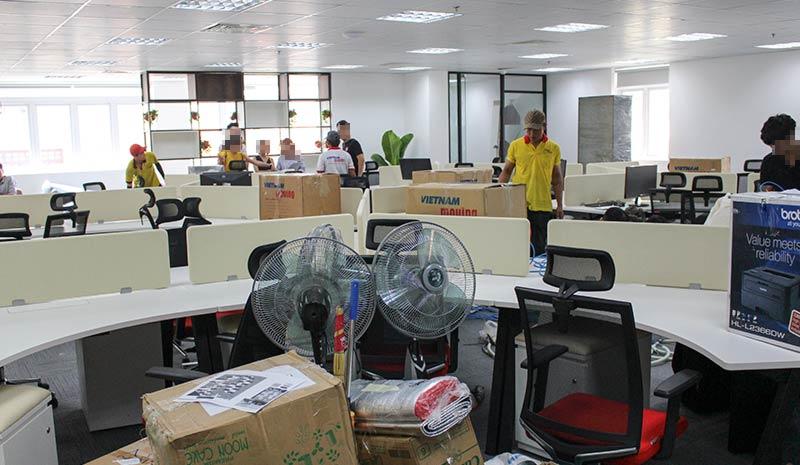 Dự án chuyển văn phòng công ty Pizza Hut Việt Nam 11