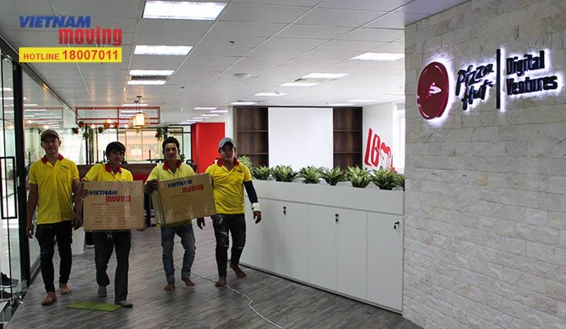 Dự án chuyển văn phòng công ty Pizza Hut Việt Nam 12