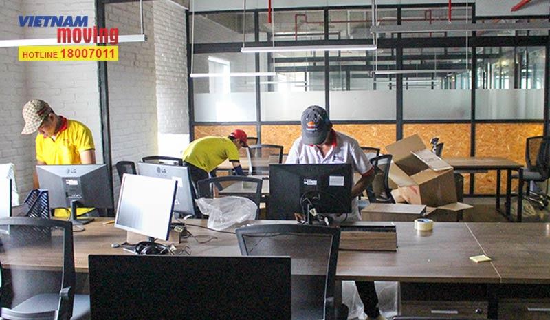 Dự án chuyển văn phòng công ty Pizza Hut Việt Nam 2