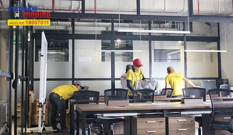 Dự án chuyển văn phòng công ty Pizza Hut Việt Nam 3