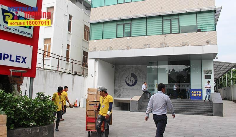 Dự án chuyển văn phòng công ty Pizza Hut Việt Nam 5