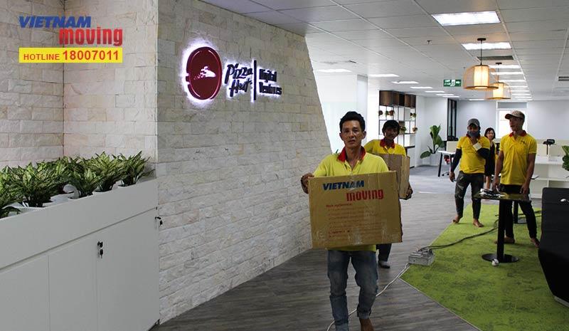 Dự án chuyển văn phòng công ty Pizza Hut Việt Nam 7