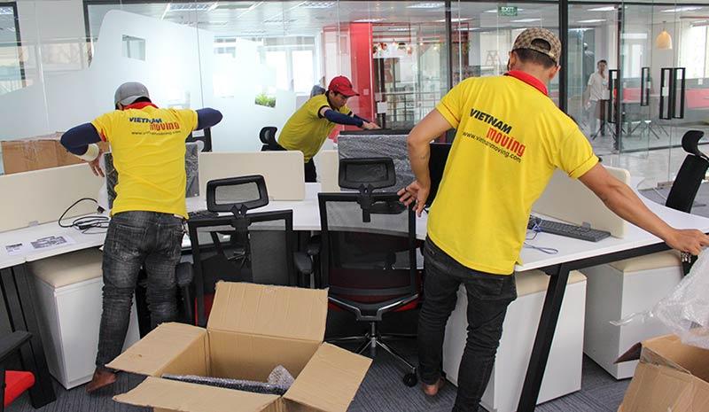 Dự án chuyển văn phòng công ty Pizza Hut Việt Nam 9