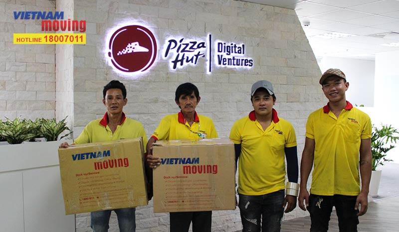 Dự án chuyển văn phòng công ty Pizza Hut Việt Nam