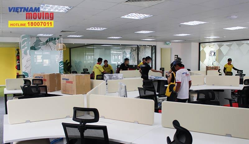 Dự án chuyển văn phòng công ty Synova Solutions 2