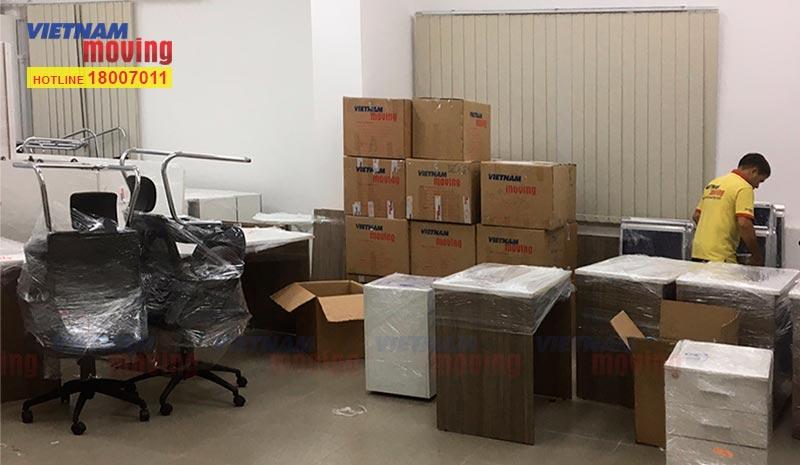 Dự án chuyển văn phòng Công ty APS VN 4