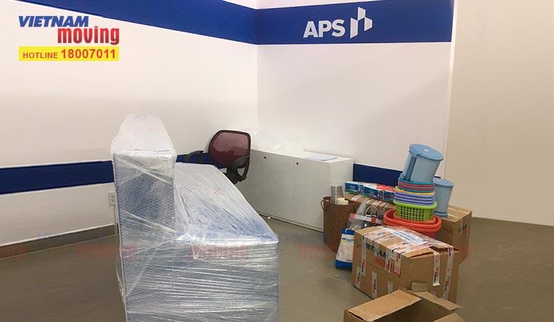 Dự án chuyển văn phòng Công ty APS VN