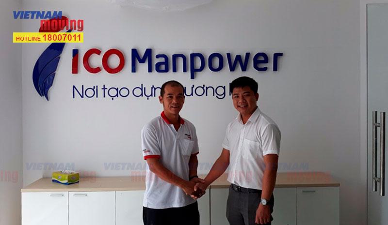 Dự án chuyển văn phòng công ty cổ phần nhân lực quốc tế ICO-ICOManpower 1