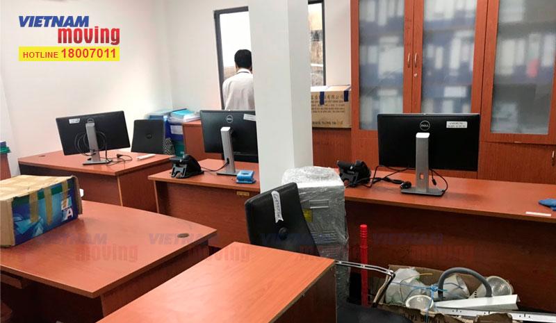 Dự án chuyển văn phòng công ty CP ĐT Hạ Tầng Kỹ Thuật TPHCM (CII) 1