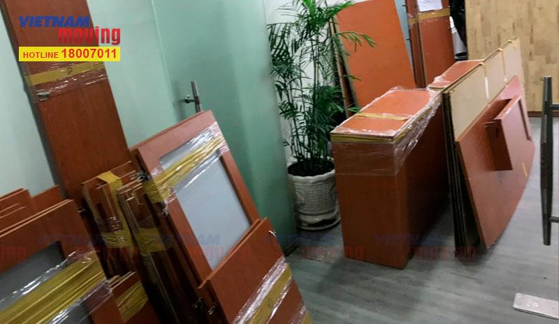 Dự án chuyển văn phòng công ty CP ĐT Hạ Tầng Kỹ Thuật TPHCM (CII) 2