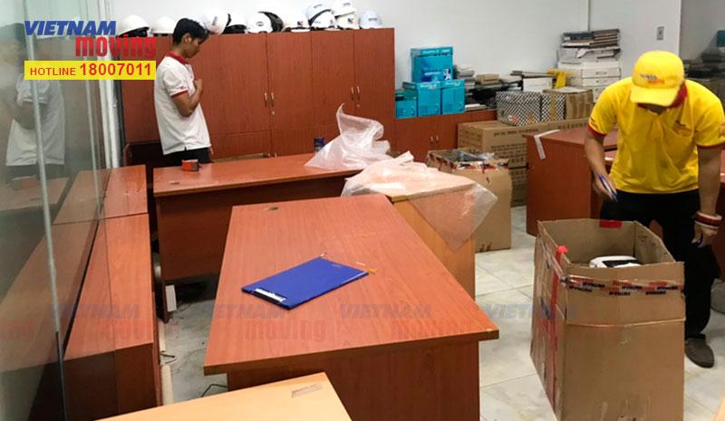 Dự án chuyển văn phòng công ty CP ĐT Hạ Tầng Kỹ Thuật TPHCM (CII) 7