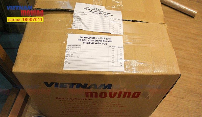 Dự án chuyển văn phòng Công ty CP DV TM Tổng hợp Vincommerce 10
