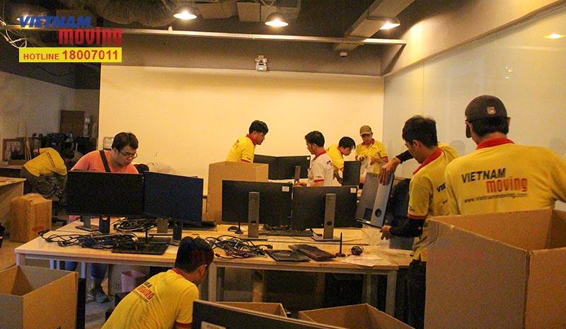 Dự án chuyển văn phòng Công ty CP DV TM Tổng hợp Vincommerce 6
