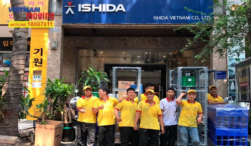 Dự án chuyển văn phòng công ty Ishida Việt Nam 1