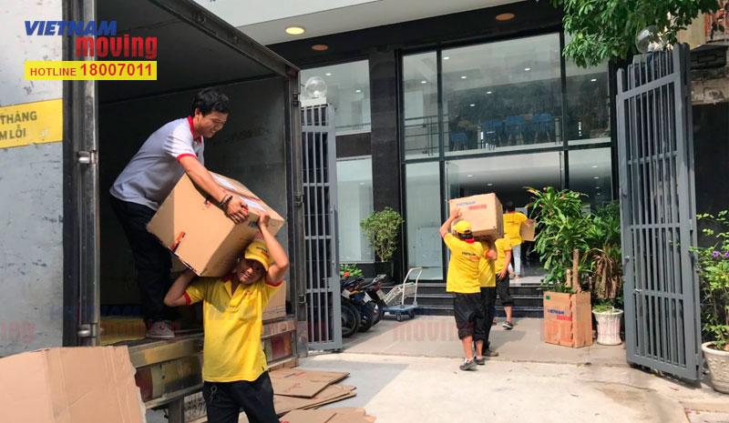 Dự án chuyển văn phòng công ty Ishida Việt Nam 10