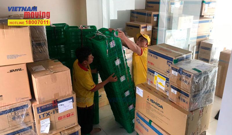 Dự án chuyển văn phòng công ty Ishida Việt Nam 16