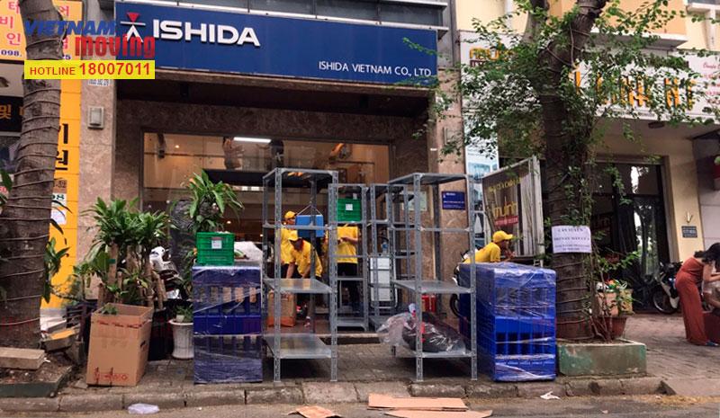 Dự án chuyển văn phòng công ty Ishida Việt Nam 2