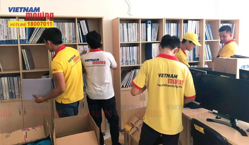 Dự án chuyển văn phòng công ty Ishida Việt Nam 3