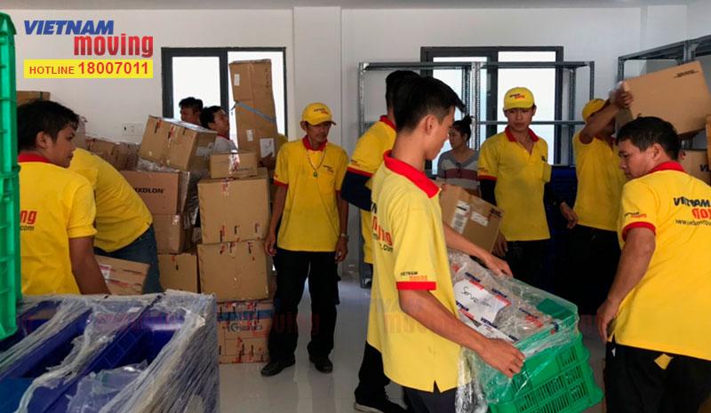Dự án chuyển văn phòng công ty Ishida Việt Nam 7