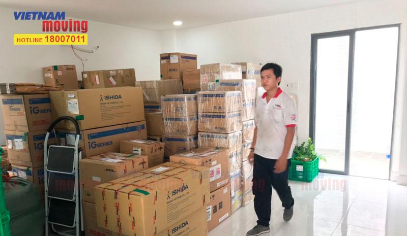 Dự án chuyển văn phòng công ty Ishida Việt Nam 8