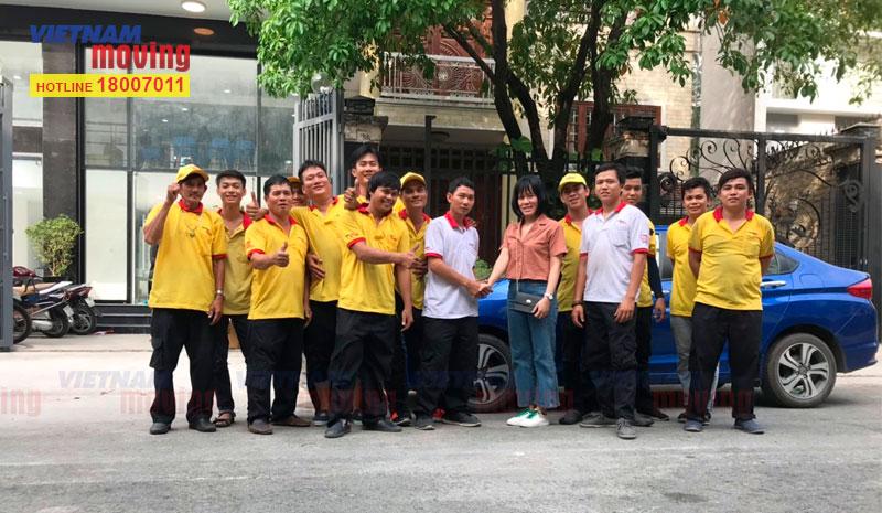Dự án chuyển văn phòng công ty Ishida Việt Nam