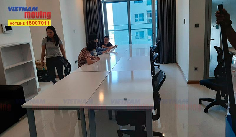 Dự án chuyển văn phòng Công ty KKday Việt Nam 2
