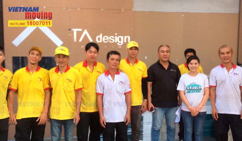 Dự án chuyển văn phòng công ty TA Design