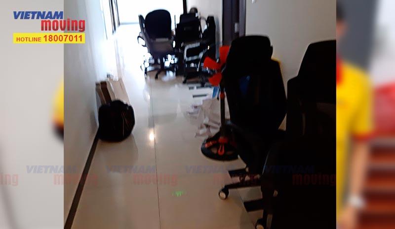 Dự án chuyển văn phòng Công ty TV GP Số Sơn Việt 2