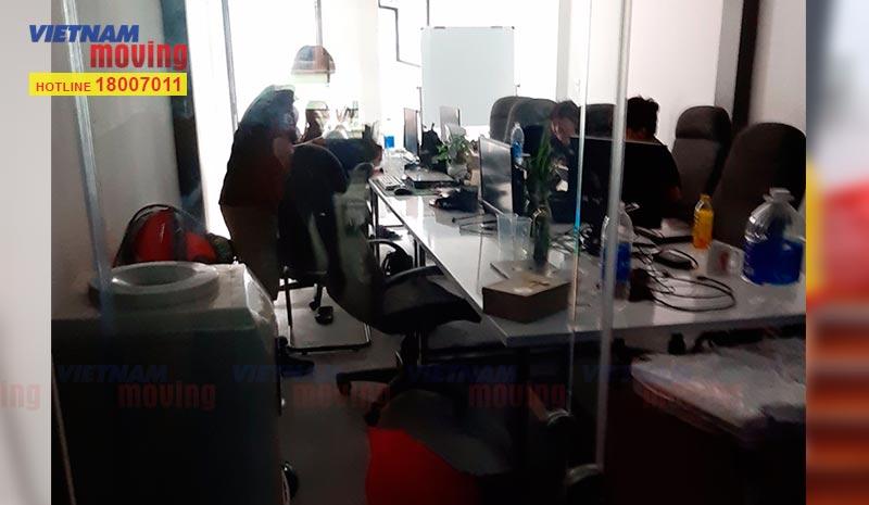 Dự án chuyển văn phòng Công ty TV GP Số Sơn Việt 3