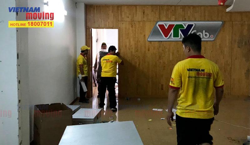 Dự án chuyển văn phòng công ty VTV Cab Việt Nam 1