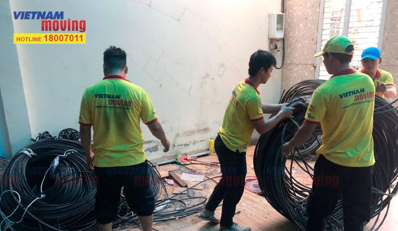 Dự án chuyển văn phòng công ty VTV Cab Việt Nam 13