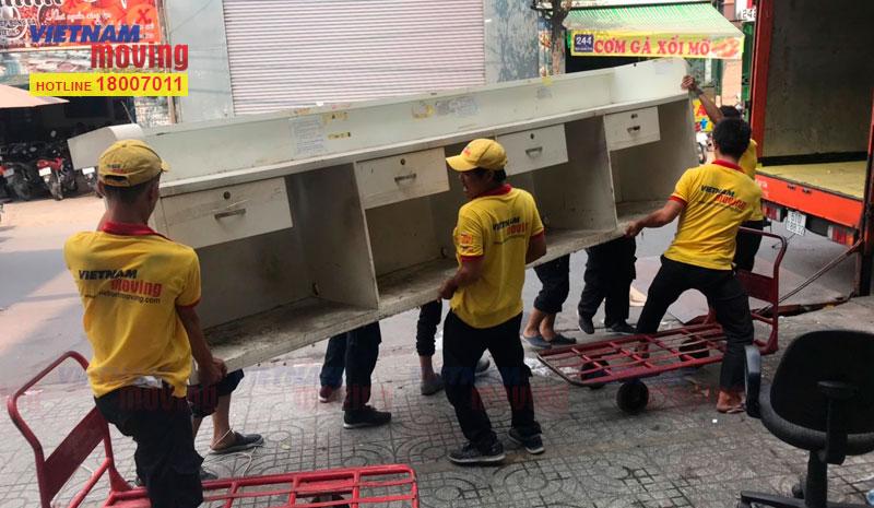 Dự án chuyển văn phòng công ty VTV Cab Việt Nam 15
