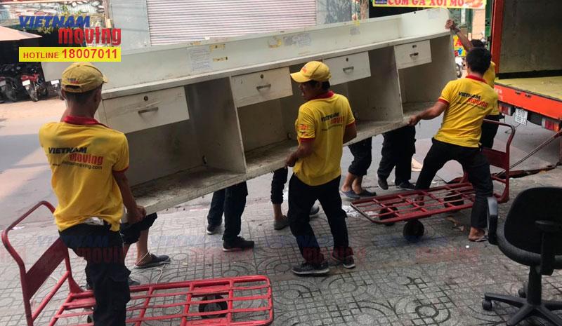 Dự án chuyển văn phòng công ty VTV Cab Việt Nam 18