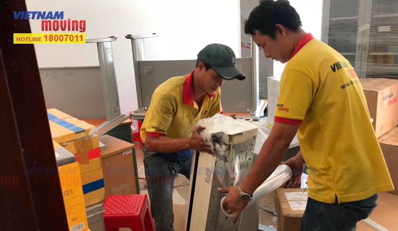 Dự án chuyển văn phòng công ty VTV Cab Việt Nam 2