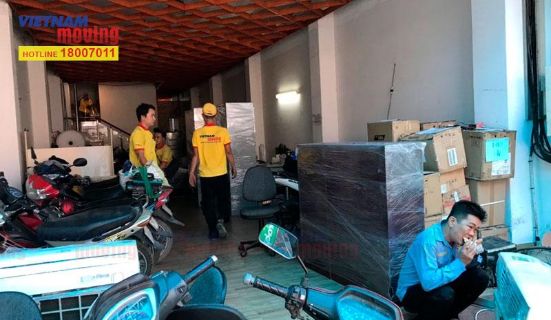 Dự án chuyển văn phòng công ty VTV Cab Việt Nam 5