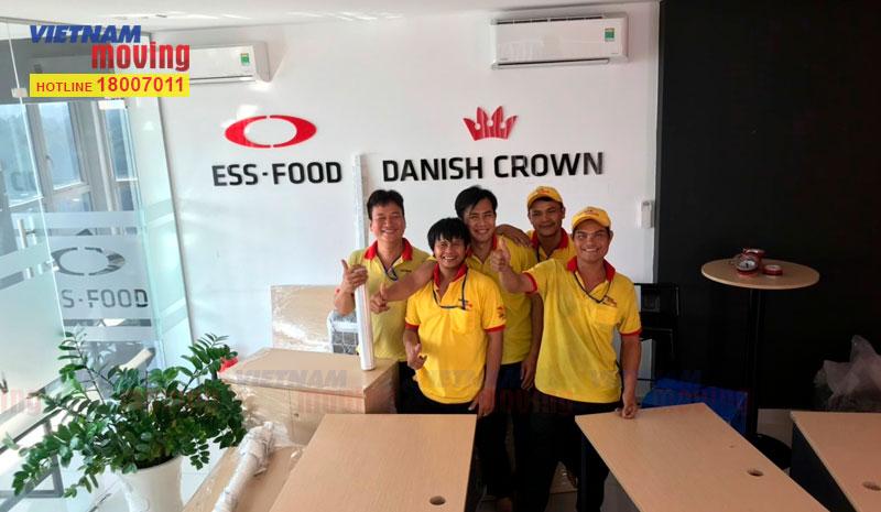 Dự án chuyển văn phòng đại diện công ty ESS Food