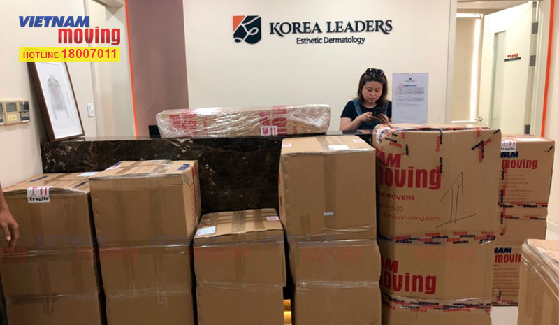 Dự án chuyển văn phòng Viện Thẩm Mỹ Korea Leaders 3