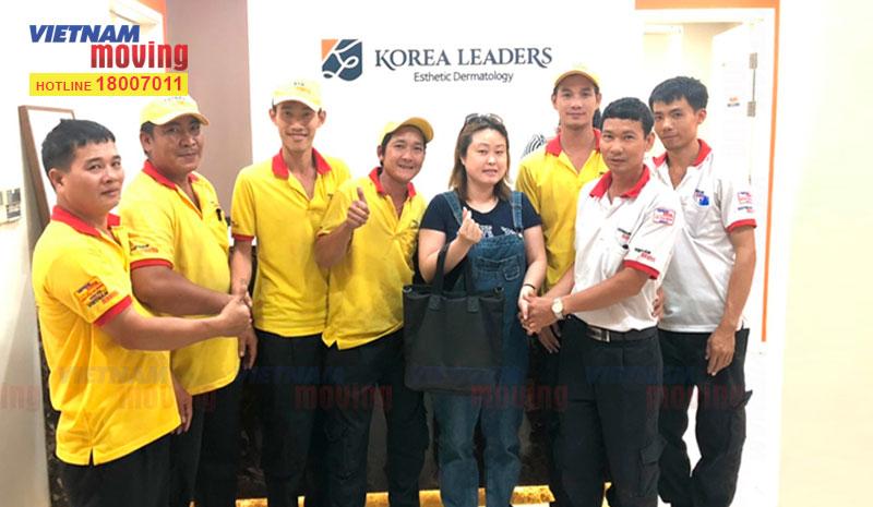 Dự án chuyển văn phòng Viện Thẩm Mỹ Korea Leaders