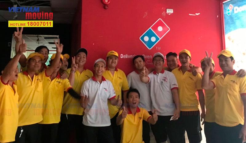 Dự án vận chuyển cửa hàng Domino's Pizza