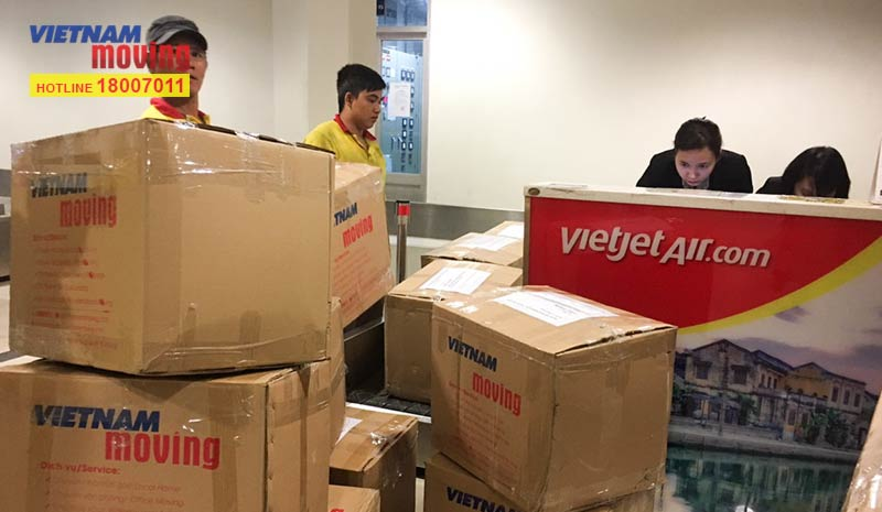 Dự án vận chuyển công ty cổ phần hàng không Vietjet 6