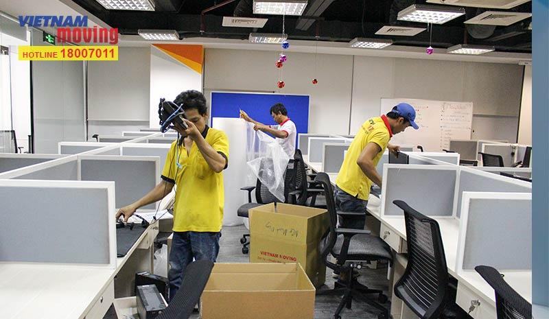 Dự án chuyển văn phòng công ty giải trí và thể thao điện tử Việt Nam | Vietnam Esports | Garena 3